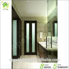 bathroom doors with frosted glass. glass doors bathroom walnut color frosted shower door bi fold with
