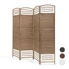Details Zu Paravent Sichtschutz Raumteiler Trennwand Raumtrenner Spanische Wand Holz Bambus