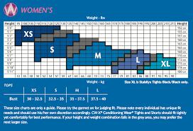 Cwx Stabilyx Tights Size Chart Stabilyx Tights Black