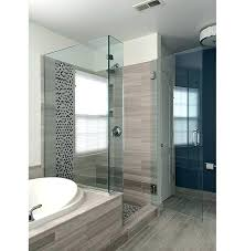 36 neo angle frameless corner shower enclosure clear tempered glass bathrooms winsome hinged