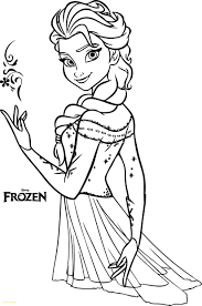 Printable Anna And Elsa Coloring Pages Only Color Best Of Princess