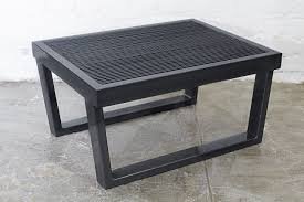 industrial age furniture. Industrial Black Steel Side Table, Rehab Vintage Interiors Original Age Furniture A