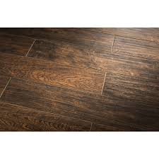 Recycled Leather Floor Tiles Shop Style Selections Woods Natural Glazed Porcelain Indoor