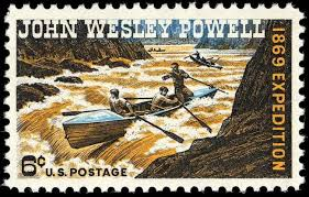 Image result for the canyon was fully explored when geologist John Wesley Powell led 10 men down the Colorado River,