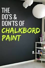 Chalkboard paint tips & tricks: There's a method to applying chalkboard  paint that will make