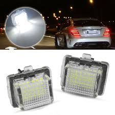 W212 Parking Light Replacement Details About Canbus Error Free Led License Plate Lights For Mercedes Pre Lci W204 W212 W221