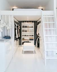 gorgeous space saving walk in closet idea