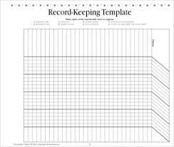 blank chart template for teachers. Record-Keeping Template: Teacher Resource Blank Chart Template For Teachers H