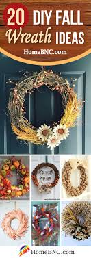 20 fabulous diy fall wreaths to greet your guests in style