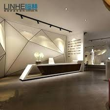 Front Office Designs Awesome Reception Desk Plans Design Reception Desk Design Get Quotations A
