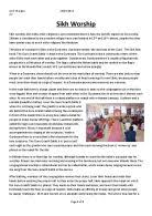 golden temple amritsar gcse religious studies philosophy  sikh worship