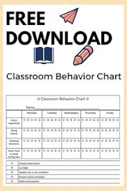 Best Classroom Behavior Chart Registered Mommy Nurse