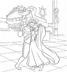 Small Picture disney tangled coloring pages printable Tangled Wedding Coloring