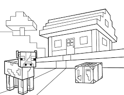 Minecraft Animal Coloring Pages Getcoloringpagescom