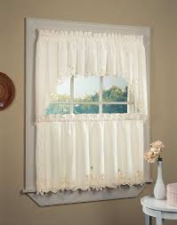 Kitchen Curtains For Short Curtains For Kitchen Free Image