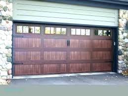 wood garage door cost s full size of 2 car spring