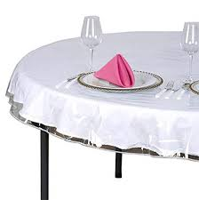 clear plastic tablecloth protector table cloth vinyl 70 round