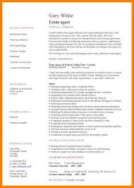 Estate Agent Cv Estate Agents Cv Template