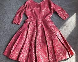 Pink brocade skirt   Etsy