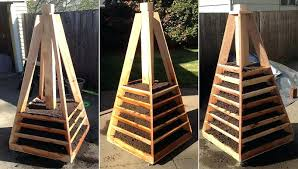vertical garden planters diy vertical pyramid garden planter diy vertical vegetable garden planters