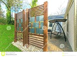 deck privacy wall patio fence ideas designs planter boxes