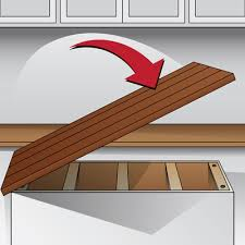 wood countertop installation guide for how to attach plan 4