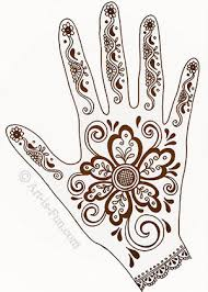 Henna Pattern Inspiration Henna Hand Designs Art Lesson Make A Unique SelfPortrait Art Is Fun