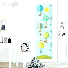 growth chart wall decal personalized canada