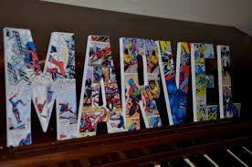 Marvel Comic Bedroom Marvel Comics Bedroom