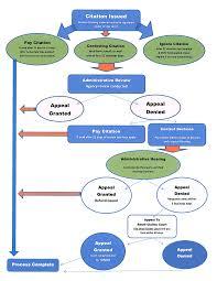 Citation Flow Chart Parking And Transportation