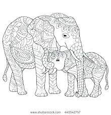 African Elephant Coloring Page D2230 Elephant Coloring Page Pages