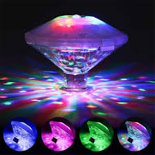 Baby Bath Disco Lights Coquimbo Swimming Pool Light Battery Operated Led Craft Accent Light With 7 Modes Baby Bath Tub Toys Floating Lights For Hot Tub Disco Pool Party Or