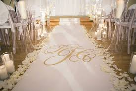 custom aisle runner designs for your wedding ceremony inside Unique Wedding Aisle Runner photo by rob and wynter photography; aisle runner by the original runner company unique wedding aisle runners