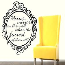 Mirror Mirror On The Wall Quote Fascinating Mirror Mirror On The Wall Quotes Mirror Mirror On The Wall Decal