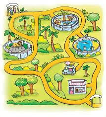 simple zoo map for kids. Contemporary Simple Illustrated Map Childrenu0027s Books Zoo Kids Illustration By Kate And Simple Zoo Map For Kids O