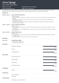 truck driving resumes truck driver resume sample and complete guide 20 examples