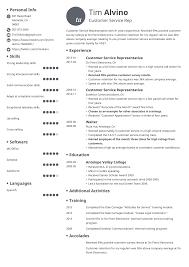 Resumes Samples For Customer Service Customer Service Representative Resume Examples 19 Tips