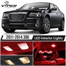 2014 Chrysler 300 Lights Details About 2011 2014 Chrysler 300 Red Led Interior Lights Package Kit