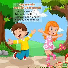 Sưu tầm các bài thơ dạy cho bé