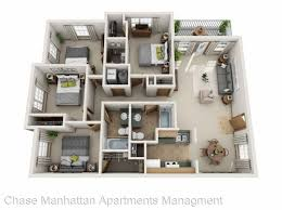 Elegant How To Create Be As Sharps Bedrooms 4 Bedroom Apartment Manhattan