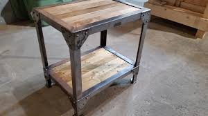 wood and iron furniture. Delighful Metal And Wood Furniture YouTube Iron