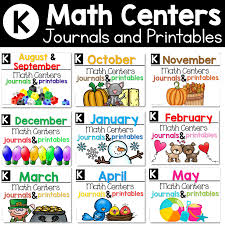 Organizing Math Centers - Tunstall's Teaching Tidbits