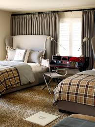 Plaid Bedroom Bedroom Master King Size Bed With Checkered Bedding Set Blue