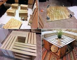 diy country coffee table homemade tables wood base crates pallet and in x large kitchen fascinating get the at hom