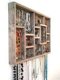 necklace rack wall mount necklace organizer wall jewelry organizer earrings holder rack necklace holder jewelry organizer necklace rack wall