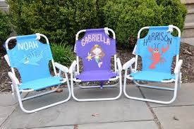 personalized beach chairs. Items Similar To Childs Beach Chair With Umbrella On Etsy Kids Chairs Personalized R