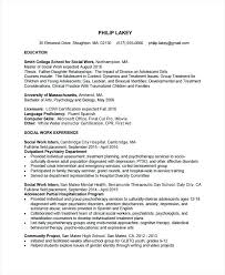 Career Objective For Social Worker Resume Best Of Social Service Resume Entry Level Social Work Resume Fresh Social