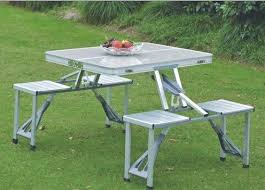 aluminum picnic tables. Buy Portable Folding Picnic Table Online Best Prices In India Aluminum Tables T