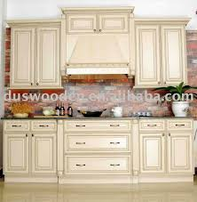 Light Wood Kitchen Kitchen Vintage White Wooden Kitchen Cabinet With Brick Walls