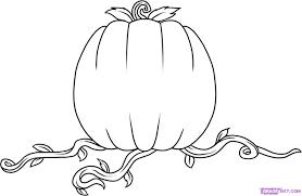 pumpkin drawing. how to draw a pumpkin step 5 drawing